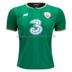 Starting in Ireland will wear a jersey from new supplier New Balance. &ltBR>&ltBR&gtThe shirt is inspired by the team that made its international debut at the . World Football, Football Kits, Association Football, Ireland Homes, Team Uniforms, European Football, Jersey Shirt, New Balance, Soccer