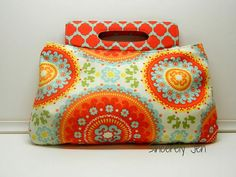 Swoon Patterns: Coraline Clutch  PDF Bag Purse by SwoonPatterns