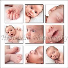 Newborn Photography Ideas | ... Newborn-Child-Photographer-Baby-Bits-Storyboard-Collage-Photography