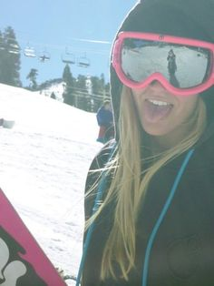d766fc497bc girl snowboarder gonna take a picture like this is winter