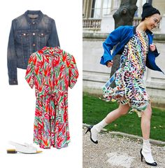 We suggest you a perfect look for this spring, with this KENZO´s dress and CARVEN´s sandals will transmit the freshness of this seasson. And don´t forget your J BRAND´ s jacket, can still do get cold at night! Shop online: http://www.farfetch.com/es/shopping/arropame/women/items.aspx#ps=1&pv=60&oby=5&lsf=1