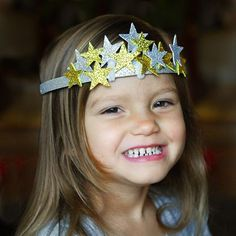 DIY New Year's Star Crown