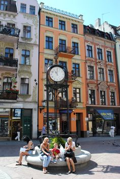 Clock in Toru, Poland. Travel Around The World, Around The Worlds, Countries Of The World, Old World, Croatia, Counting, Places To Travel, Places Ive Been, Beautiful Places
