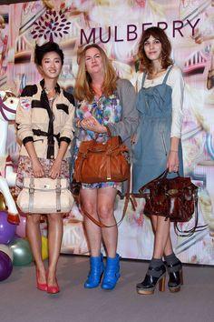 Alexa Chung Loose Bun - Alexa Chung Looks - StyleBistro