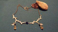 Coleção Inverno2014: Fio bronze com inspiração em veados *artigo único *artesanato/vendas