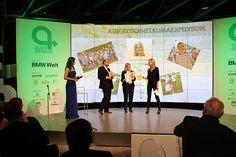 """Querdenker-Award in der BMW-Welt München! UN-Auszeichnung """"Biologische Vielfalt"""" an Baufritz und die Querdenker"""
