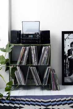 Every music lover should have the perfect place to store their vinyl.