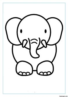 Printable Coloring Pages Animals #3