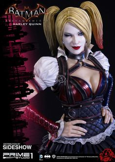 Go Crazy With This Batman: Arkham Knight Harley Quinn Statue