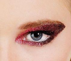 glitter make up eyes red - Поиск в Google