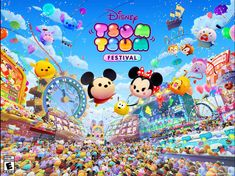 Disney TSUM TSUM FESTIVAL has landed on the Nintendo Switch, and we were invited to check it out. This exciting new game enables fans from all over the world to Nintendo Systems, Nintendo Games, Nintendo News, Disney Games, Disney Pixar, Nintendo Switch, Minnie Mouse, Festival Games