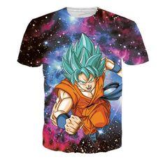 SSGSS Goku Whis Symbol Resurrection F Galaxy T-Shirt