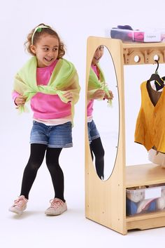 Role play, dramatic play, imaginative play - everyone agrees its essential. It starts with lots of storage space.