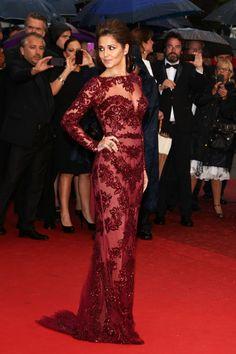 Cheryl Cole - Zuhair Murad, Cannes 2013