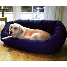 Bagel Bed Blue - 78899561122, Majestic Pet