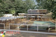 Modelagem 3d -Bar e Restaurante