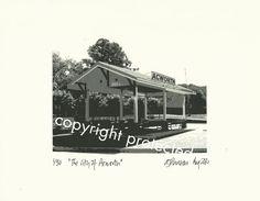 Limited Edition Print: THE CITY of ACWORTH, Georgia. via Etsy http://www.etsy.com/listing/115153258/limited-edition-print-the-city-of?ref=teams_post