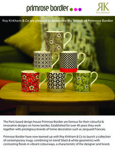 Check out our latest press release on the Primrose Bordier collection!