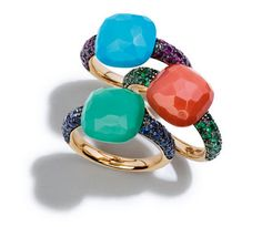 Totally, completely in love with this Pomellato collection