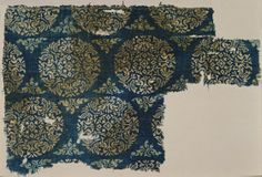 Textile Fragment India, Gujarat, Probably 13th -14th century Textiles; fragments Cotton plain weave, block-resist dyed