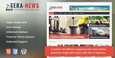 See More TeraNews - Responsive WordPress Magazine Themelowest price for you. In addition you can compare price with another store and read helpful reviews. Buy