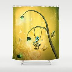 Beautiful clef Shower Curtain by Curtains, Shower, Music, Prints, Party, Fun, Beautiful, Rain Shower Heads, Musica