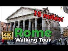 Rome Walking Tour in miles- w/Captions and Titles Virtual Travel, Virtual Tour, Arch Of Constantine, Virtual Field Trips, Ancient Rome, Ancient China, Rome Travel, Walking Tour, Travel Destinations