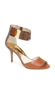 1fec46cc4a99 These MICHAEL Michael Kors Sand Guiliana Open Toe Sandals Size US 8 Regular  (M