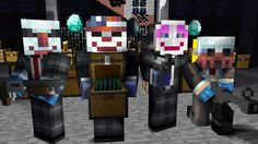 Minecraft PayDay 2