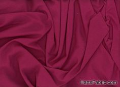 Organic Cotton Knit Fabric Cranberry