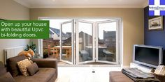 Bi-folding doors provide a stunning and contemporary design to connect your living and outdoor space – available at a reliable price at spikerwindows