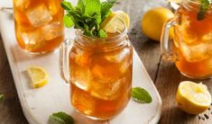 Homemade Iced Tea and Lemonade by Brent Hofacker on Rum Punch Recipes, Bourbon Recipes, Vodka Recipes, Tea Recipes, Cocktail Recipes, Iced Tea Cocktails, Bourbon Cocktails, Iced Tea Lemonade, Homemade Iced Tea