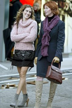 Carrie Bradshaw and Miranda Hobbes, Sex and the City