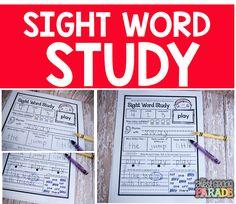 Sight Words & Freebies