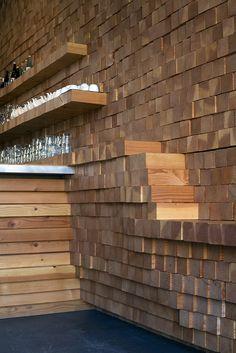 Wooden Bar On Pinterest Bar Counter Design Metal Bar