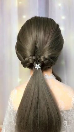 Medium Hair Styles, Natural Hair Styles, Short Hair Styles, Cute Simple Hairstyles, Braided Hairstyles, Hair Upstyles, Permanent Hair Dye, Hair Creations, Hair Videos