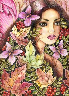 Flora Fairy by ~vikachaeeta on deviantART