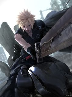 Cloud Strife Художник: Diaodiao