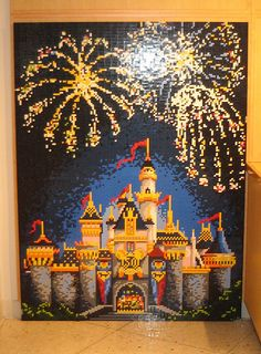 Magic Kingdom Fireworks by paulhillsdon, via Flickr