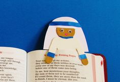 Make a quick bookmark craft to celebrate our newest saint! This is made from the wooden people dolls widely available (and inexpensive too) found in craft stores. HEAVENS TO BETSY! CATHOLIC CRAFTS. COM
