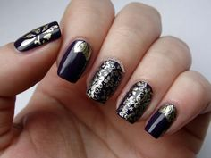 Shimmer Floral Stamping Nails: http://www.plustenkapow.co.uk/2015/01/born-pretty-store-stamping-plate-08.html
