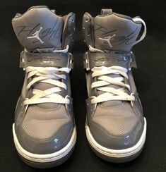 on sale a1a97 7668e Nike Air Jordan Flight 45 High Sz 9.5 384519-001 Light Graphite White  Stealth  fashion  clothing  shoes  accessories  mensshoes  athleticshoes  (ebay link)