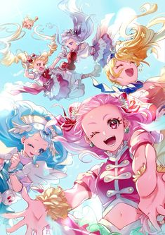 VK is the largest European social network with more than 100 million active users. Our goal is to keep old friends, ex-classmates, neighbors and colleagues in touch. Pretty Cure, Kawaii Art, Kawaii Anime, Doki Doki Anime, Action Pose Reference, Real Anime, Cute Stars, Glitter Force, Girl Wallpaper