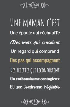 Mama Quotes, Life Quotes, Positive Mind, Positive Vibes, French Expressions, Quote Citation, French Quotes, Bad Mood, More Than Words