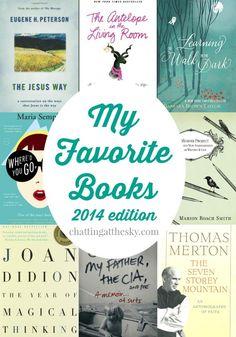 My Favorite Books of 2014
