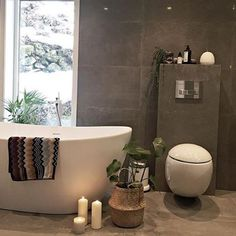 Spa feeling Credit: by Shower Remodel, House, Interior, Interior Inspiration, New Homes, Modern Kitchen Design, Bathroom Decor, Beautiful Bathrooms, Kitchen Design