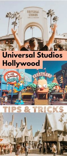 Plan out your California theme park trip in advance with these Universal Studios tips and tricks, including advice for The Wizarding World of Harry Potter! Viejo Hollywood, Hollywood California, California Travel, Harry Potter World California, Hollywood Usa, Travel Advice, Travel Guides, Travel Tips, Travel Destinations