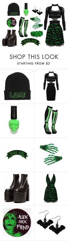 """""""Untitled #4"""" by laylafgore ❤ liked on Polyvore featuring Mark Fast, Kreepsville 666 and Hell Bunny"""