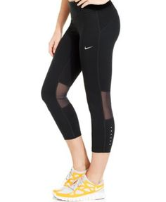 Nike Epic Run Dri-FIT Capri Leggings Women - Pants   Capris - Macy s 5c6858775c7