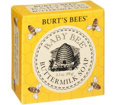Burts Bees Baby Bee Buttermilk Soap Make bath time a fun time. This gentle bar for baby is made with buttermilk in an all-natural vegetable soap base to nourish skin. Oat flour pampers and quiets baby's tender skin for extra special care. Mom And Baby, Baby Kids, Baby Baby, Burt's Bees, Bumble Bees, Gentle Baby, Baby Soap, Bee Gifts, Baby Skin Care